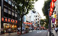 神楽坂通り商店会 約860m(徒歩11分)