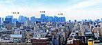 【眺望写真】現地約40m(13階相当)の高さより撮影(2017年11月)