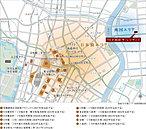 日本橋大規模再開発エリアに近接