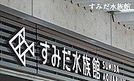 すみだ水族館 約640m(徒歩8分)