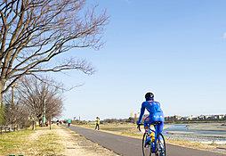 多摩川緑地公園 約1,810m(徒歩23分、自転車8分)