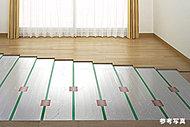 温風式ではないためチリやホコリが舞い上がらず、室内の空気も汚さない身体にやさしい暖房です。