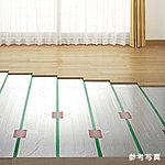 全居室※の床には足元から部屋全体を暖めるTES温水式床暖房を標準装備。※キッチンを除く