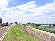 江戸川堤サイクリング道路 約1,260m(徒歩16分)