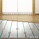 リビング・ダイニング・キッチン・洋室の床には足元から部屋全体を暖めるTES温水式床暖房を標準装備。温風式ではないためチリやホコリが舞い上がらず、室内の空気も汚さない身体にやさしい暖房です。