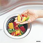 生ゴミを粉砕処理し、そのまま水に流せるディスポーザ。生ゴミを部屋に溜めなくて済むため、ニオイも気にならず衛生的です。※1