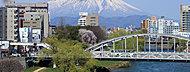 開運橋(平成26年4月撮影) 約1,440m