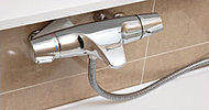 スタイリッシュで使いやすいグローエ製サーモ水栓