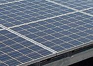 屋上にはマンション共用部分の消費電力の一部をまかなうことができる太陽光パネルを設置。地球環境にも配慮しています。