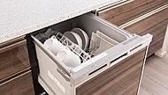 スイッチひとつで洗浄から乾燥まで自動で行い、家事の負担を減らすと共に節水にも貢献します。※特定保守製品に該当。詳しくは係員にお尋ねください。