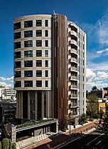 ※2017年10月に現地11階相当(高さ約31m)から撮影した写真に設計図書を基に描き起こした完成予想図を合したもので、実際とは多少異なる場合がございます。