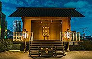 赤城神社 約570m(徒歩8分)※提供写真