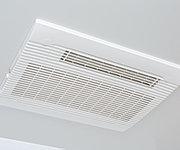 冬場でも快適に入浴できる、暖房機能付の浴室乾燥機。雨の日のお洗濯にも役立ちます。
