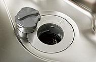 生ゴミを粉砕し水と一緒に流して処理。ゴミ出しの手間を省き、キッチンを衛生的に保ちます。