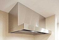 整流板の効果により、高い捕集効率を実現。油煙も確実に捕らえ、キッチンを快適に保ちます。※タイプによりサイズや形状が異なります。