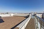 Drタイプ・ルーフバルコニーからの眺望写真(平成29年1月撮影)