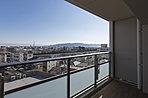703号室バルコニーからの眺望写真(平成29年1月撮影)