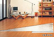 リビング・ダイニングには足下からの輻射熱でお部屋を暖めるガス温水式床暖房を標準装備しています。