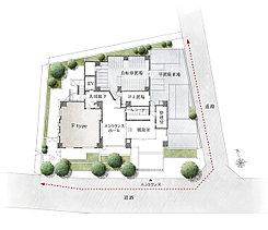 文教の街として名高い早稲田の、開放感あふれる2方角地。