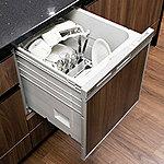 ワンタッチで食器の洗浄・乾燥を行う便利な食器洗浄乾燥機をご用意しました。家事の負担軽減と省エネ・節水を両立できます。