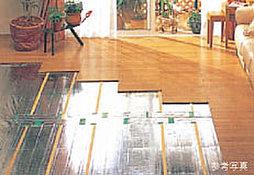 ガス温水式床暖房システム