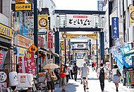 戸越銀座商店街 約640m(徒歩8分)
