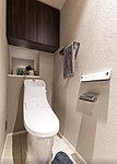 清潔&エコを叶えた先進のシャワートイレ一体型便器(超節水ECO5)。