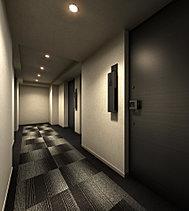 ホテルのような上質感に、防音性、セキュリティーを確保。プライバシーにも配慮された落ち着きの空間です。