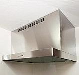 調理中の煙や臭いを、パワフルに排出しながら、新鮮な空気を補給します。