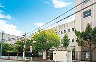 市立小阪中学校 約960m(徒歩12分)