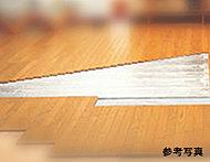 ホコリを巻き上げる風も起きにくい、静かでクリーンな暖房装備、ガス温水式床暖房「ヌック」を採用。