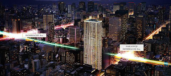 ローレルタワー堺筋本町