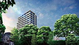 樹々の上、空の下。風景を楽しむ高層15階建て。