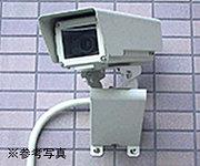 不審者の侵入をいち早く察知するために、共用部には監視カメラ(ビデオ録画付き)を設置しています。