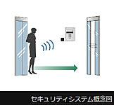 マンションへ出入りする際にポケットやバッグにキーを入れたまま受信機に近づくだけでオートロックを解錠できます。