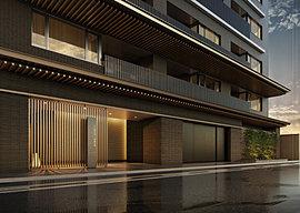 千二百年という歴史・文化に裏打ちされ、京都の気候・風土にあった住まいとして受け継がれている町家。どこまでも奥ゆかしく、凛と落ち着いた特徴を踏襲。時が経つほどに愛着が深まるよう、あえて無彩色系タイルの素材を厳選して同色に抑えました。