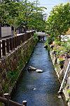 高瀬川せせらぎのプロムナード 約50m(徒歩1分)