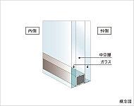 屋外の暑さ寒さの影響を室内側のガラスが受けにくいため、室内の温度を維持しやすく、省エネルギー性を高めることができます。※1