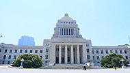 国会議事堂 約2,140m(徒歩27分)※2017年5月撮影