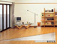 空気を汚さない輻射熱で居室全体を暖めるガス温水式床暖房をリビング・ダイニングに標準装備。