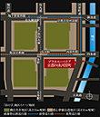 「田の字」地区イメージ地図 東西南北を御池通、五条通、河原町通、堀川通という四つの幹線道路に囲まれ、その中心で烏丸通と四条通が交わり「田の字」を描く一帯は、古都のあらゆる魅力を堪能できる京都の中心。
