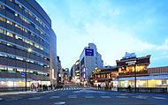 市ケ谷駅前 約410m(平成29年3月撮影)