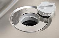 気になる生ゴミを簡単に処理できるディスポーザーを設置。排水口で粉砕するので、ゴミ出しの量と手間が軽減できます。 ※一部処理できない生ゴミ及び使用できない洗剤もあります。