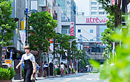中央通り商店街南側入口 約220m(徒歩3分)