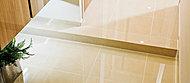 玄関・廊下の床には、高級感あるれるタイルを使用し、気品に満ちた空間を演出しています。※モデルルームCタイプ玄関・廊下(2016年2月撮影)