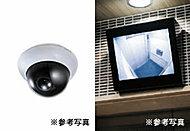 エレベーター、風除室など共用部に防犯カメラを設置。居住者を24時間見守り、不審者の侵入を監視します。