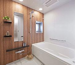お湯が冷めにくいバスタブや、広々とした洗い場スペース等、心地よい入浴が楽しめる多彩な設備と機能を採用しました。