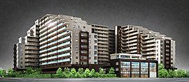 全444邸の大規模スケールでお贈りする「メイツ 深川住吉」。小名木川に面して水辺の潤いを感じられる共用棟をはじめ、個性に富んだ4棟の住棟が、多様な暮らしを叶えます。