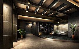 重厚、かつ繊細。その上質な空間は、この邸宅に暮らす方々のステイタスを満たす。