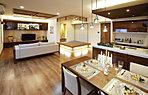 リビングダイニングキッチン和室